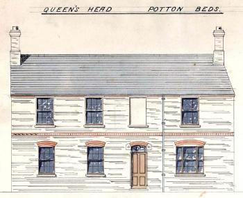 The new Queens Head of 1878 [CDE168/2]